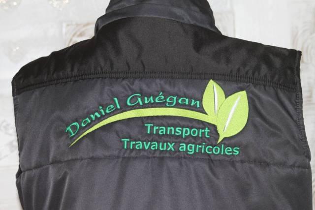 la société transport Daniel Guegan